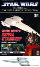 Star Wars Vehicles Coll Mag #36 Royal Starship
