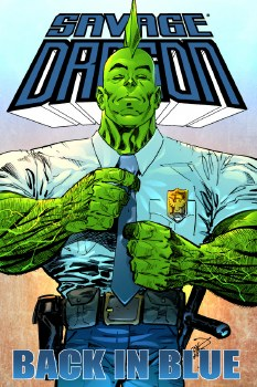 Savage Dragon Back In Blue TP