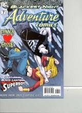 Adventure Comics #7 (#510) with Black Lantern Superboy Var Ed