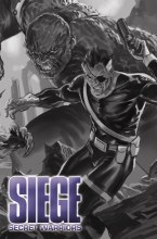 Siege Secret Warriors #1 Djurdjevic Sketch Var