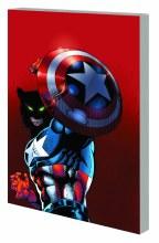 Captain America Man & Wolf TP