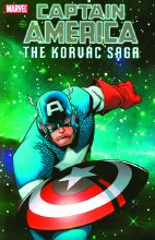 Captain America and Korvac Sag