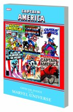 Captain America Off Index To Marvel Universe GN TP