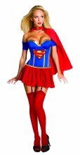 Supergirl Corsetted Costume SM