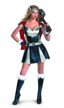 Thor Girl Sassy Deluxe Costume SM