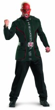Capt America Movie Red Skull Deluxe Costume XL
