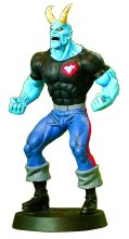 DC Superhero Figurine #90 Blue Devil w/Collectors Magazine