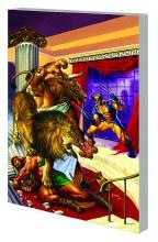 Wolverine Hercules Myths Monst