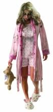 Walking Dead Little Girl Zombie Adult Costume
