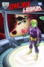 Star Trek Legion of Superheroes #1 (of 6) 10 Copy Incv