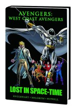 Avengers West Coast Lost Space Time Prem HC