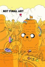 Adventure Time #6 Steve Wolfhard Variant Cover (Limited 1 for 20)
