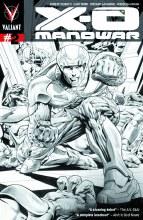 X-O Manowar #2 Reg Kevic