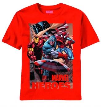 Marvel Heroes Tres Americanos