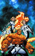 Fantastic Four by Bagley Poster