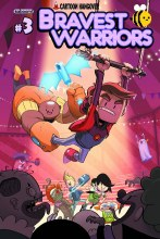 Bravest Warriors #3 Main Cvrs