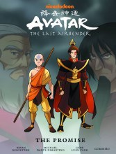 Avatar Last Airbender Promise Library Ed HC