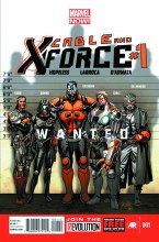 Cable and X-Force #1 Larroca D