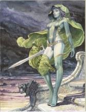 Gamora by Milo Manara Rolled Poster