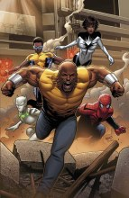 Mighty Avengers By Land Poster