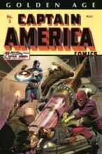 Golden Age Captain America Omni HC VOL 01 Weeks Cvr  free shipping