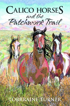 Calico Horses and Patchwork Tr