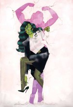 She-Hulk #1 By Pulido Poster