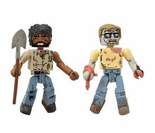 Walking Dead Minimates 5 Geek Zombie/Morgan