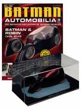 Batman Automobilia #35 Batman & Robin #5 Diecast Batmobile w/Mag