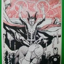 Avengers #29 Cho Sketch Var Sin