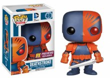 Pop Heroes Deathstroke Px Vinyl Figure Box Damage