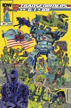 Transformers Vs Gi Joe #1