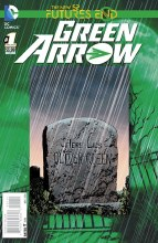Green Arrow Futures End #1 3D Motion Cover