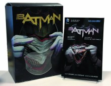Batman (Vol.3 HC) Death of the Family Book & Joker Mask Set