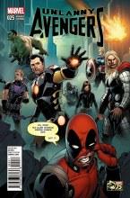 Uncanny Avengers #25 Deadpool