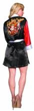 DC Bombshells Harley Quinn Px Satin Robe Sm/Med