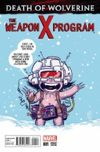 Death of Wolverine Weapon X Program #1 Of(5) Skottie Young Var