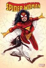 Spider-Woman By Land Poster