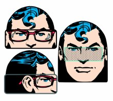 Superman Flip Knit Beanie (C:
