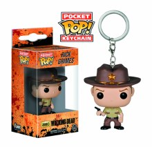Pocket Pop Rick Grimes Vinyl Figure Keychain