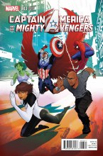 Captain America and Mighty Avengers #3 Richardson Var
