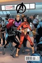 Avengers #40 Larroca Welcome Home Var Tro