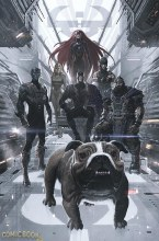 Uncanny Avengers #1 Ladronn Inhuman 50th Anniv Var
