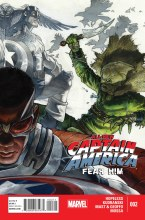 All New Captain America Fear Him #2 (of 4)