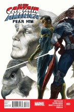 All New Captain America Fear Him #3 (of 4)