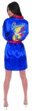 DC Bombshells Supergirl Px Satin Robe Lg/Xl