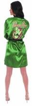 DC Bombshells Poison Ivy Px Satin Robe Lg/Xl