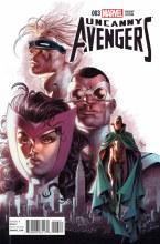 Uncanny Avengers #3 Deodato Var