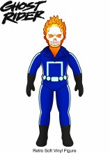 Marvel Hero Sofubi Ghost Rider Px