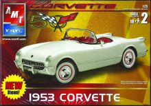 1953 Chevy Corvette 1/25 Scale Mod Kit